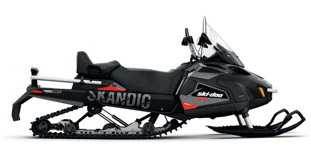 Motoslitte Ski-doo Skandic SWT nera