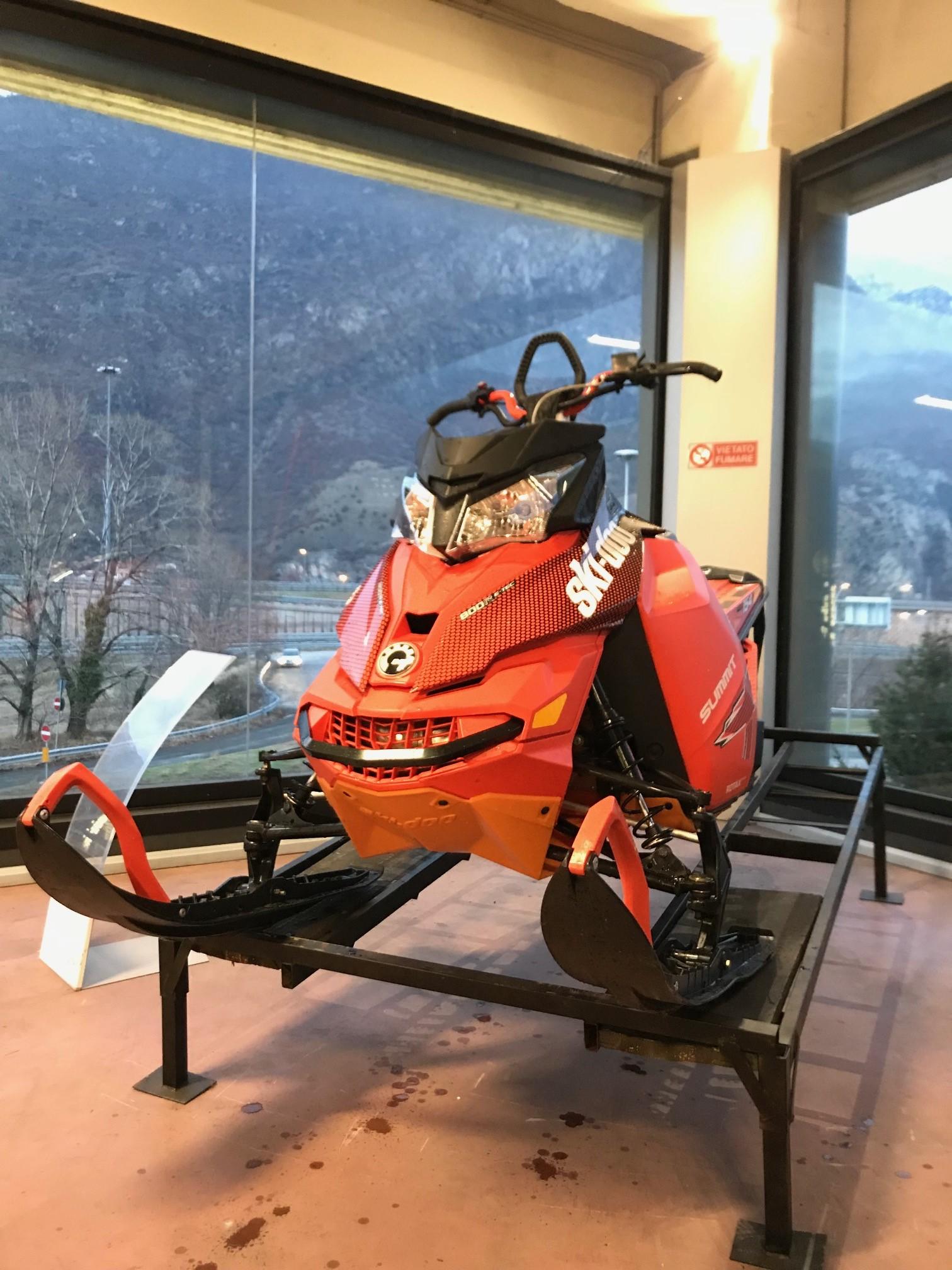 """emmeti motoslitta usata torino brp skidoo summit 800 154"""" 4"""