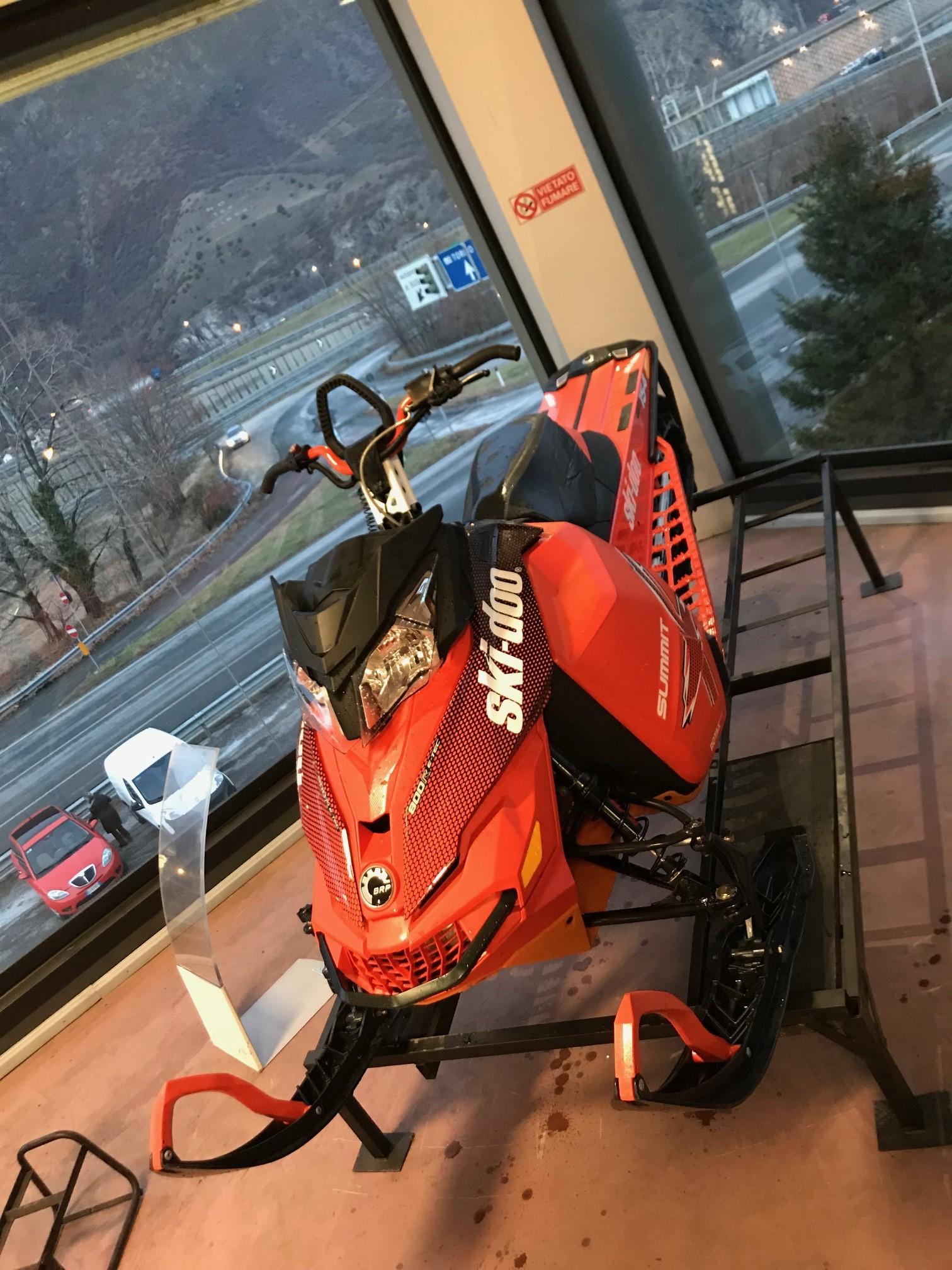 """emmeti motoslitta usata torino brp skidoo summit 800 154"""" 3"""