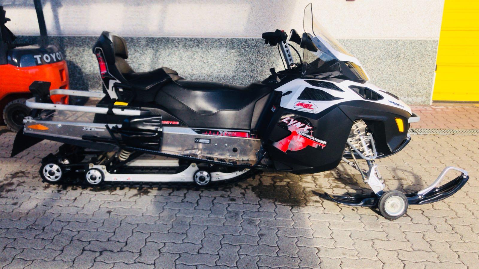 emmeti motoslitte usate susa brp lynx commander xtrim 600 e-tech 1
