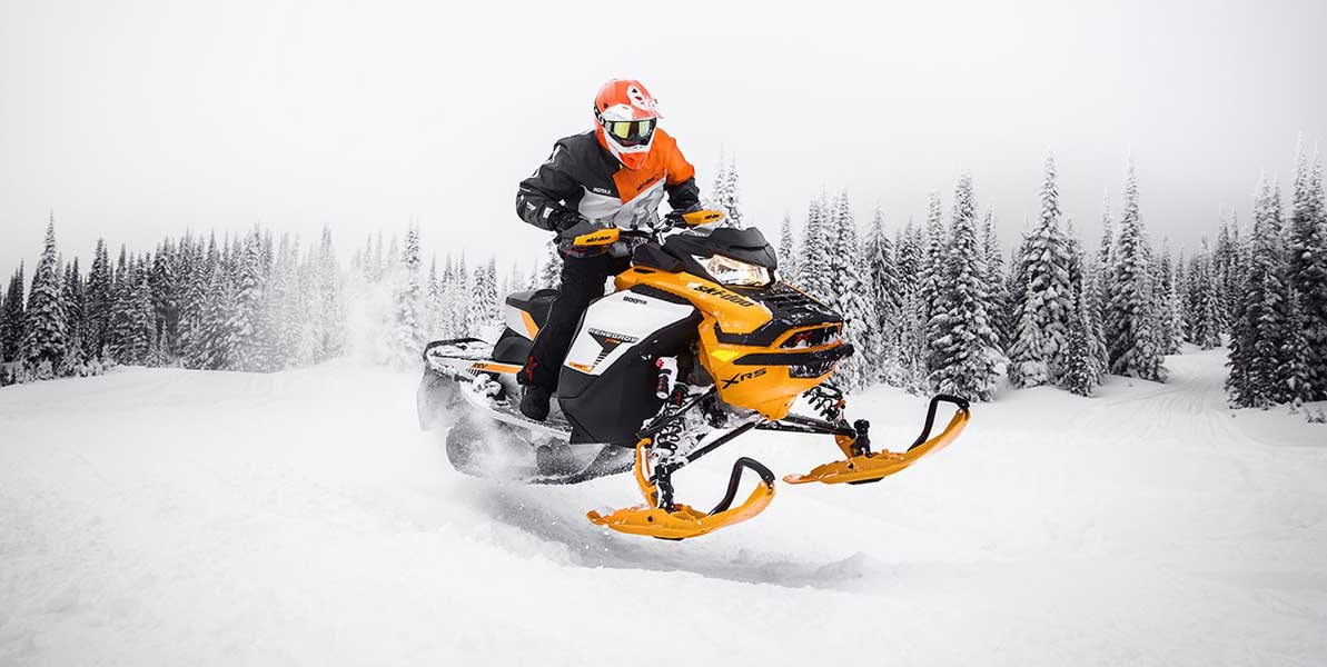 Motoslitte sportive Ski-doo 2019