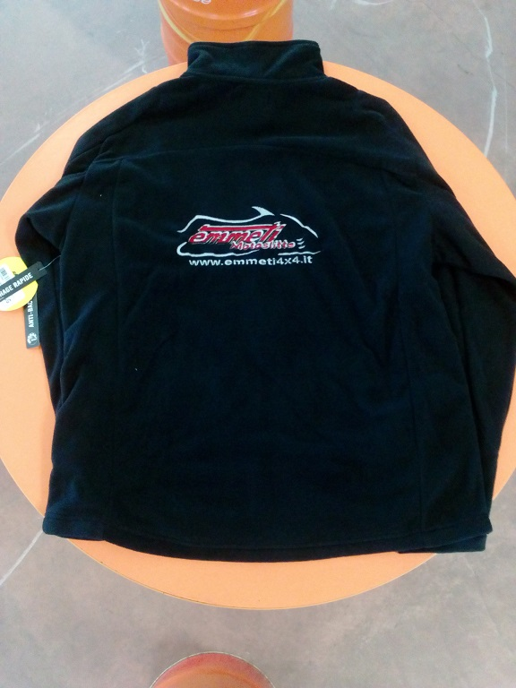 emmeti 4x4 abbigliamento skidoo piemonte pile skidoo nero (3)