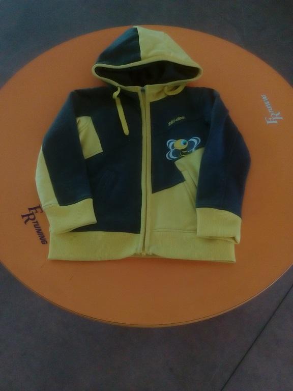 emmeti 4x4 abbigliamento skidoo provincia di torino felpa gialla kids (1)