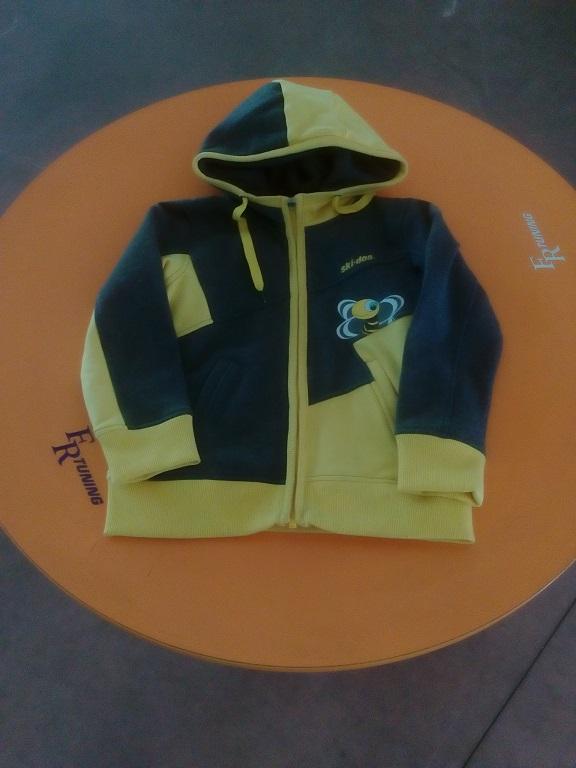 emmeti 4x4 abbigliamento skidoo provincia di torino felpa gialla kids (2)
