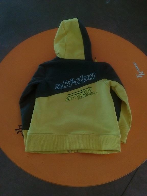 emmeti 4x4 abbigliamento skidoo provincia di torino felpa gialla kids (4)