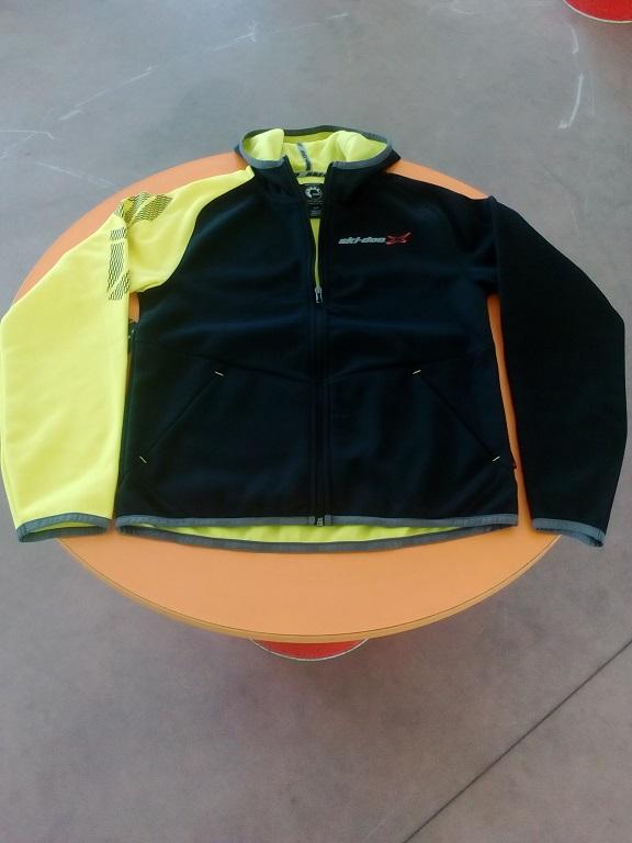 emmeti 4x4 abbigliamento skidoo susa giacchino nero manica gialla (1)