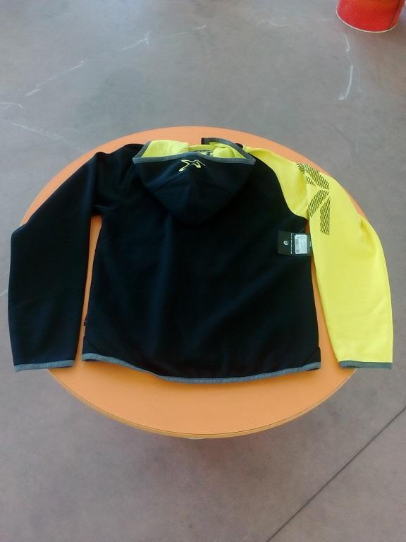 emmeti 4x4 abbigliamento skidoo susa giacchino nero manica gialla (2)