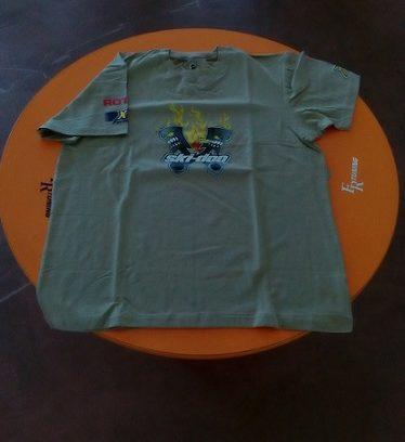 T-shirt skidoo stampa anteriore