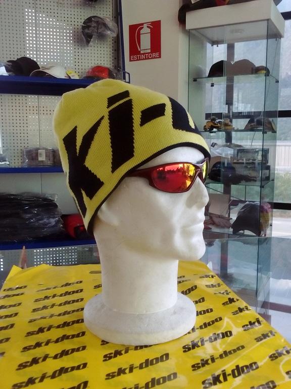 emmeti 4x4 abbigliamento skidoo torino berretto reversibile giallo nero (1)