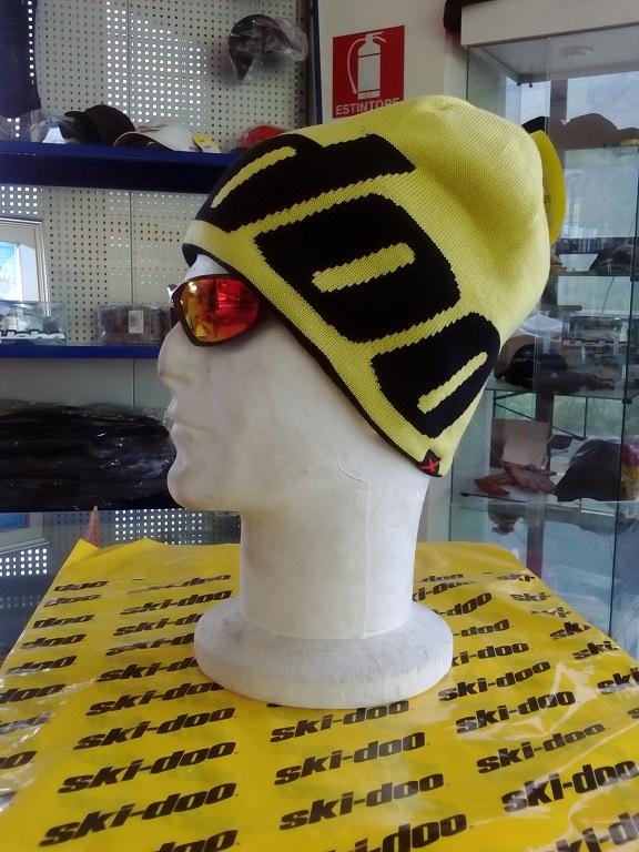 emmeti 4x4 abbigliamento skidoo torino berretto reversibile giallo nero (2)