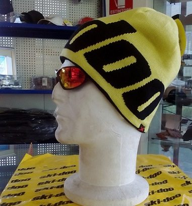 Reversable Beanie Yellow