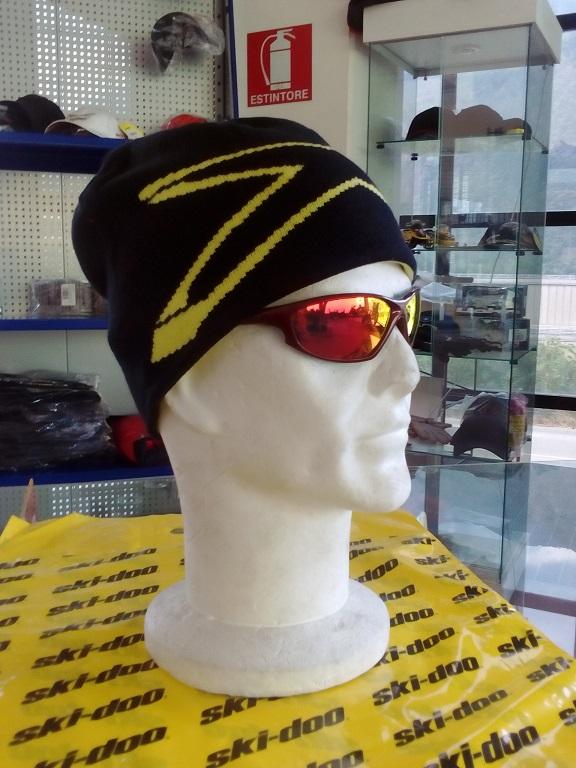 emmeti 4x4 abbigliamento skidoo torino berretto reversibile giallo nero (3)