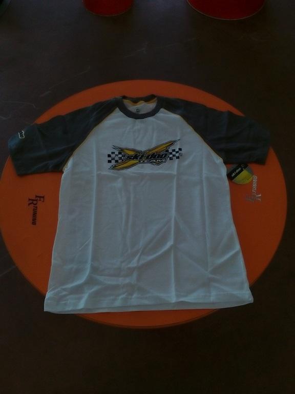emmeti 4x4 abbigliamento skidoo torino t-shirt bianca con bordo nerojpg (1)