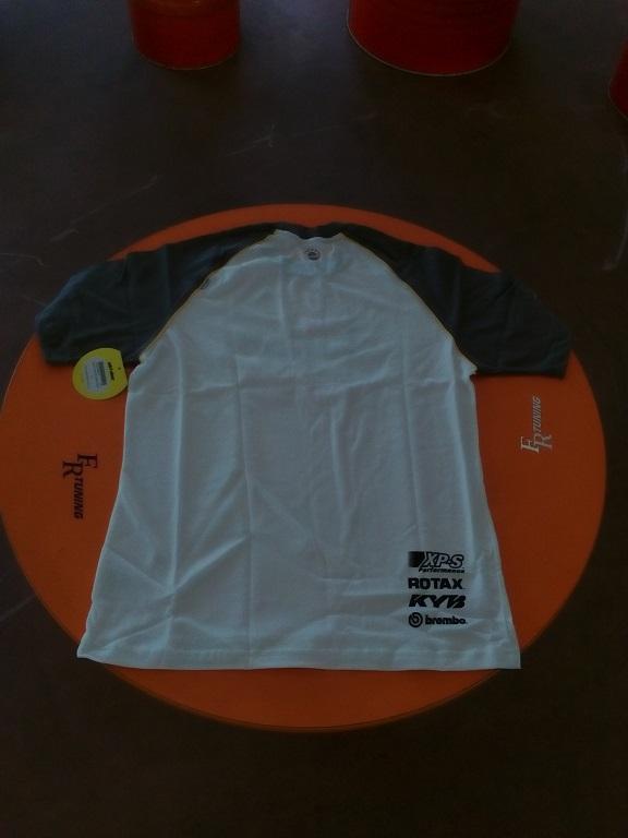 emmeti 4x4 abbigliamento skidoo torino t-shirt bianca con bordo nerojpg (2)