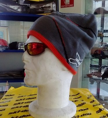Racing Beanie Grey