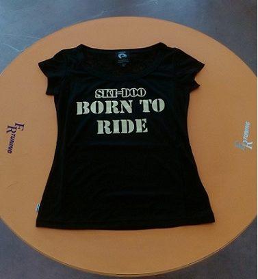 T-Shirt Nera Skidoo Donna