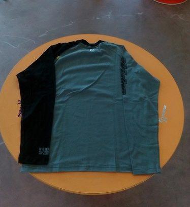 T-shirt maniche lunghe skidoo grigia