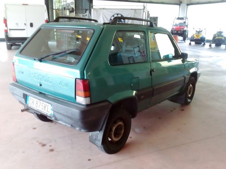 emmeti 4x4 auto usate piemonte fiat panda 4x4 verde (1)