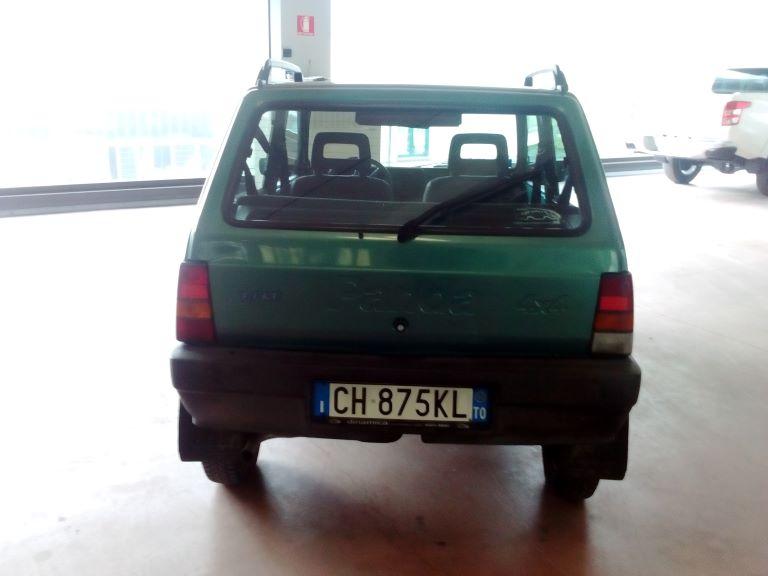 emmeti 4x4 auto usate piemonte fiat panda 4x4 verde (2)