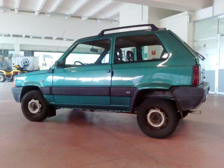emmeti 4x4 auto usate piemonte fiat panda 4x4 verde (6)