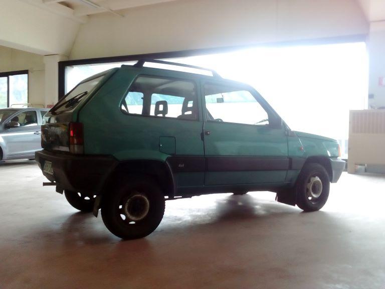 emmeti 4x4 auto usate piemonte fiat panda 4x4 verde (7)