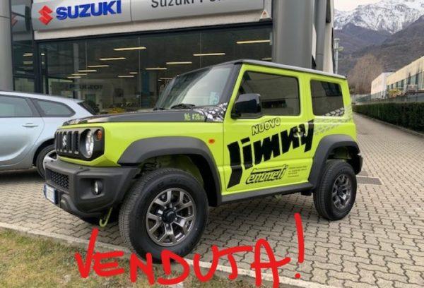 Suzuki Jimny 1.5 102cv 4WD Top Limited Edition Sakigake