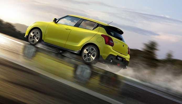 Auto Suzuki: SWIFT SPORT HYBRID