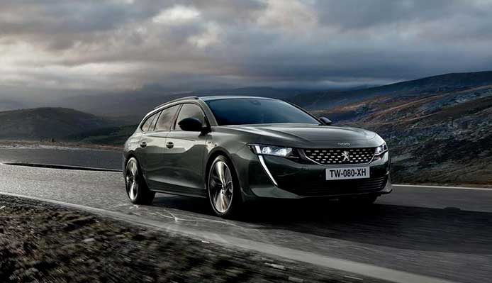 Auto Peugeot: berline e SW