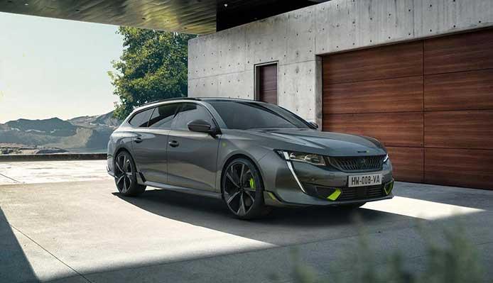 Auto Peugeot sportive