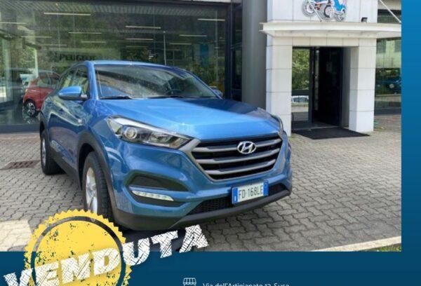 Hyundai Tuscon 1.7 CRDi 116cv Classic
