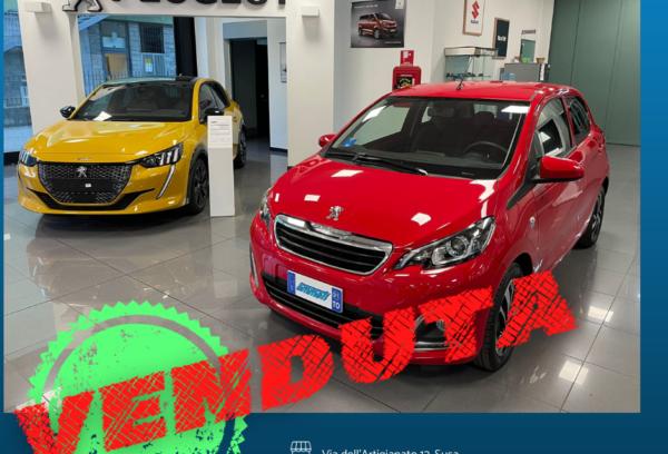 Peugeot 108 1.0 VTi 72cv Active